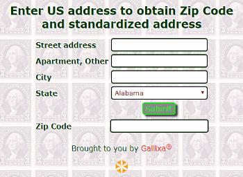 random zip code generator